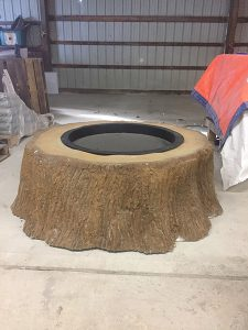 Brick Firepit from Round Grove Products