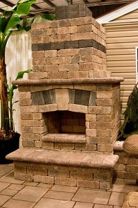custom brick fireplaces