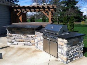 Outdoor Kitchen from Round Grove Products