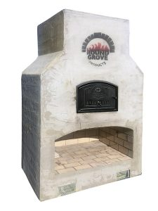 Outdoor Combo Fireplace and Pizza Oven
