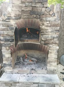 Backyard Pizza Oven from Round Grove Products