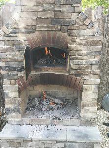 backyard pizza oven