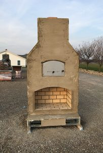 Outdoor Fireplace from Round Grove Products