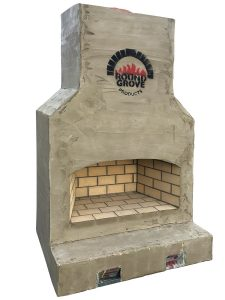 Ohio Brick Outdoor Fireplaces from Round Grove Products