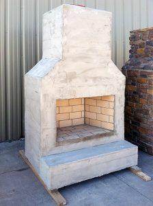 DIY Outdoor Fireplaces