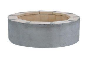 Brick Outdoor DIY Fireplace Ring