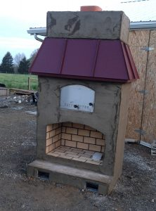 Outdoor Brick Pizza Oven from Round Grove Products of Ohio