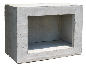 Wood Box for Outdoor Fireplace and Brick Oven from Round Grove Products