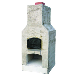 "Mini - Perfect for narrow clearances - Oven Dimensions: 21""x25"" Overall Dimensions: 38""W x 38""D x 84""H"