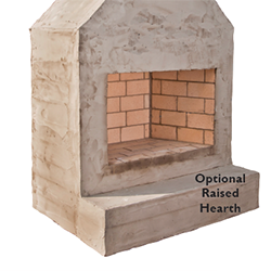 Raised Hearth