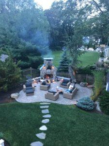 brick oven fireplace combo unut near kidron ohio - Outdoor kitchen inspiration