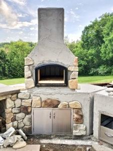 diy brick oven near kidron ohio - Outdoor kitchen inspiration