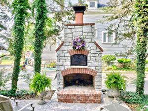 diy outdoor brick oven