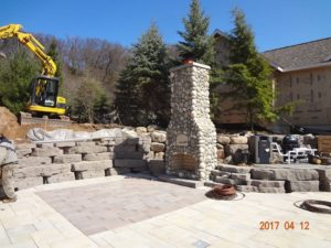 wooster ohio brick oven and fireplace