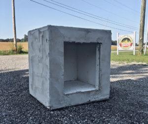 brick fireplace wood box