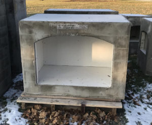 brick oven fireplace outdoor base