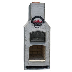 "Baha Mini - Perfect for narrow clearances - Firebox: 26""x19"" - Oven Dimensions: 21""x29"" - Overall Dimensions: 39""W x 42""D x 101""H"