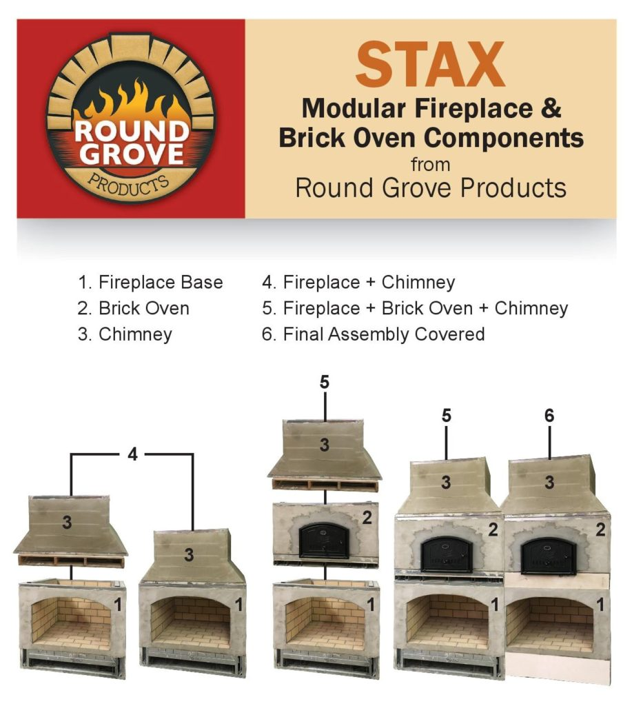 custom brick ovens and fireplaces Medina Ohio