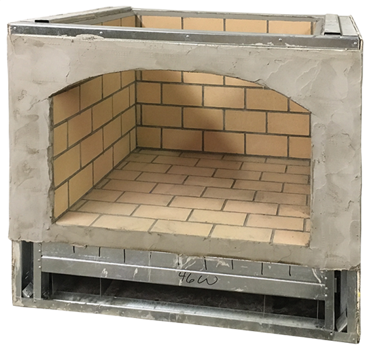 Firebox for Brick Ovens and Fireplaces from Round Grove Products