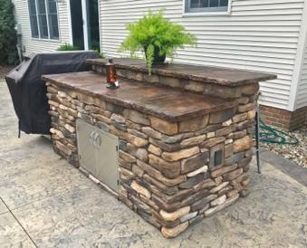 Outdoor Living Spaces - wooster ohio outdoor kitchen