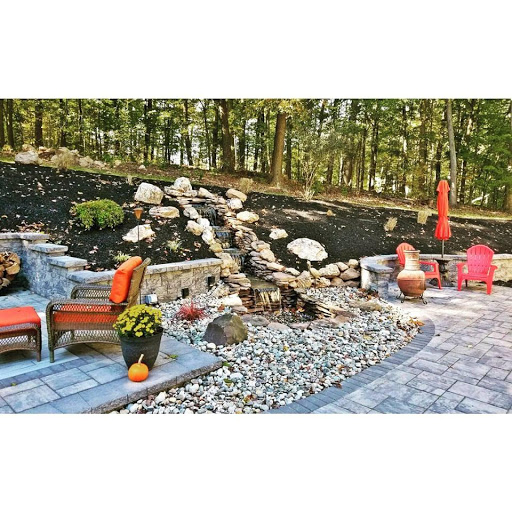 brick oven landscaping - Outdoor Living Space Design