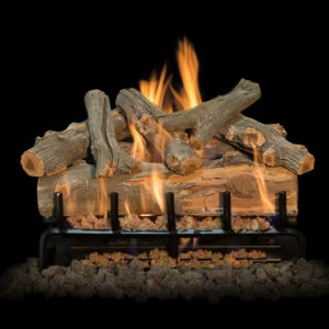 ourdoor fireplace logs