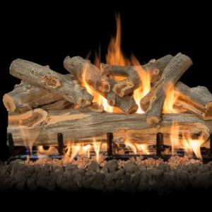 outdoor fireplace gas logs