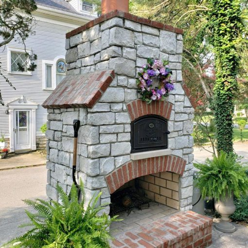 Custom Build Outdoor Brick Oven from Round Grove Products