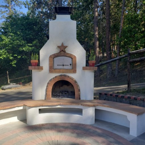 Outdoor Brick Oven from Round Grove Products