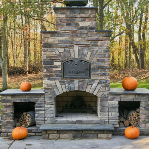 Custom Brick Oven from Round Grove Products