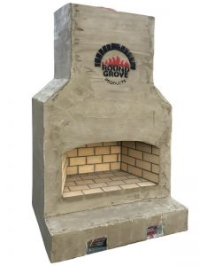 outdoor brick fireplace Ohio