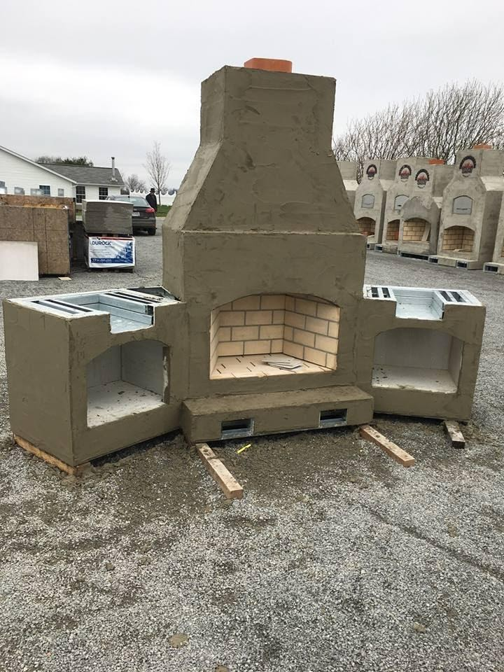 Double Sided Brick Ovens -Round Grove Products